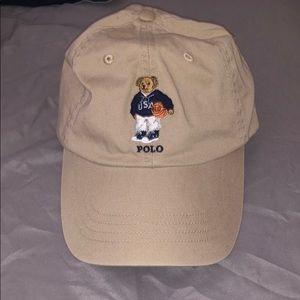 Polo bear dad hat